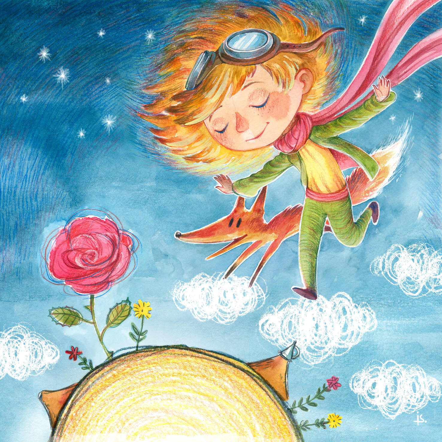 I will be the Little Prince